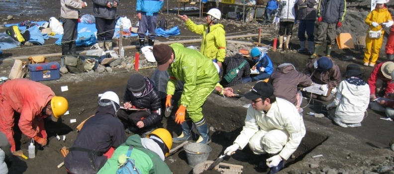 第21次野尻湖発掘のお知らせ「発掘見学にお越しください!!」