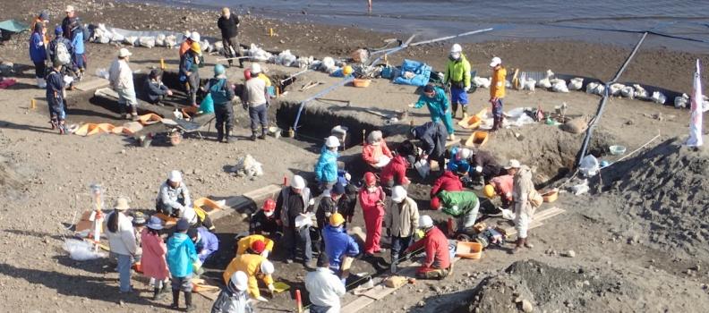 第21次野尻湖発掘が無事に終了しました